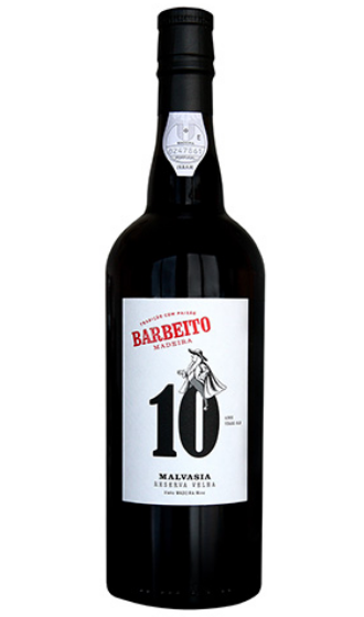 Barbeito Malvasia Old Reserve 10 Anos (Doce)